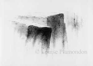 Grand dessin 1, encre sur papier 130 X 210 cm